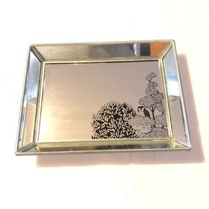 Urban outfitters Owl Mirrored Trinket Jewelry Tray